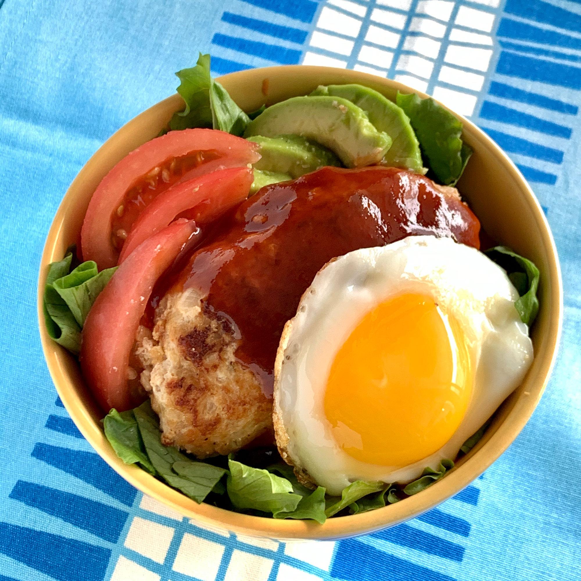 レシピ ロコモコ 丼